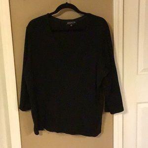 5/$25 Black V neck shirt